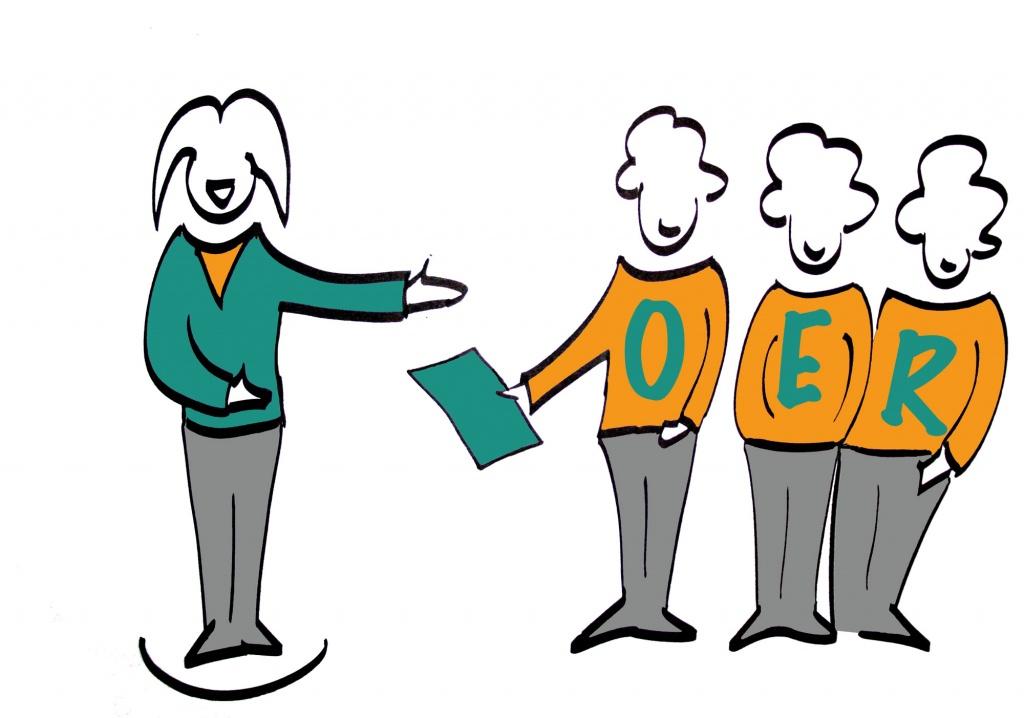 OERinForm zu OER kommunizieren und verbreiten